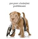 Veterinárne krmivo pre psov s kožnými problémami