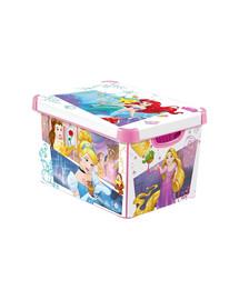 CURVER Deco Stockholm L Disney Princess Úložný box s vekom