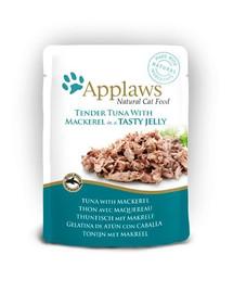 APPLAWS Tuniak a makrela 70 g x 12