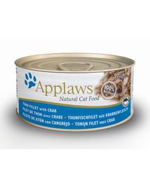 APPLAWS Cat 70 g x 12 tuniak a krab