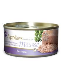 APPLAWS Cat Mousse Tin Tuna 70 g x 12