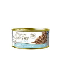 APPLAWS Cat Tin Grain Free tuniak 70 g x 12