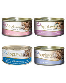 APPLAWS Fish collection 70 g x 12