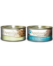 APPLAWS Cat Tin Kitten Mix 70 g x 12