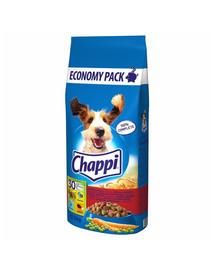 CHAPPI hydina a zelenina 2 x 13,5kg + Dr PetCare MAX Biocide Collar Obojok proti blchám a hmyzu pre psov strednej rasy 60cm ZADARMO
