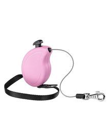 FERPLAST Flippy One Cord Mini Vodítko 3 m ružová farba