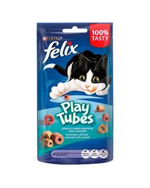FELIX Play Tubes s príchuťou rýb a kreviet 8x50 g