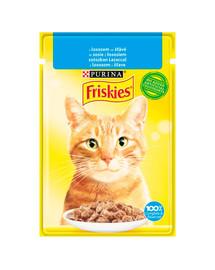 FRISKIES Losos v omáčke pre mačky 26x85g