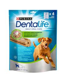 PURINA Dentalife Large 6x142g (24ks) dentálne maškrty pre psy veľkých plemien