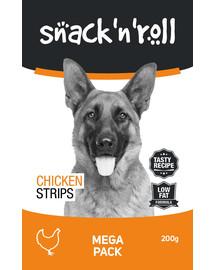 SNACK & ROLL Chicken Strips 3x200 g 2+1 ZADARMO