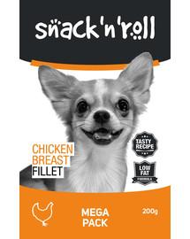 SNACK & ROLL Chicken Breast Fillet 3x200 g 2+1 ZADARMO