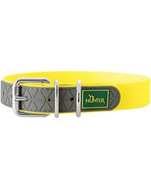 HUNTER Convenience obojok veľkosť M (50) 38-46 / 2,5cm neónový žltý