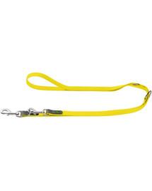 HUNTER Convenience Multifunkčné vodítko 2cm / 2m neónové žlté