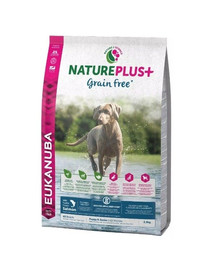 EUKANUBA Nature Plus+ Puppy Grain Free Salmon 2,3 kg