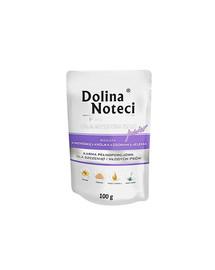 DOLINA NOTECI Premium Junior králičia pečeň a jelení jazyk 100 g