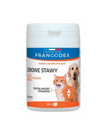 FRANCODEX Zdravé kĺby pre psov a mačky 60 tabliet