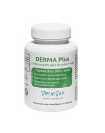 VETOSAN DERMA Plus zlepšenie stavu srsti psov a mačiek 60 tabletiek