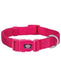 TRIXIE Obojok Premium, XXS–XS: 15–25 cm/10 mm, ružový