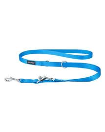 AMIPLAY Smycz taśma basic reg. nr 1-2m/1 cm niebieska