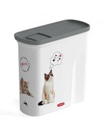 CURVER Kontajner na suché krmivo pre mačky 1,5 kg
