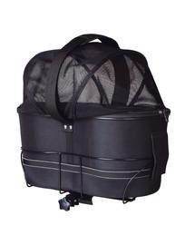 TRIXIE Košík na bicykel pre široké nosiče batožiny 29 × 49 × 60 cm čierny