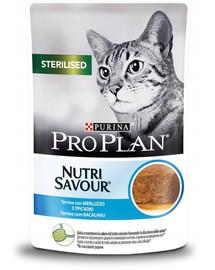 PURINA PRO PLAN Sterilised treska 24 x 85 g pre kastrované mačky