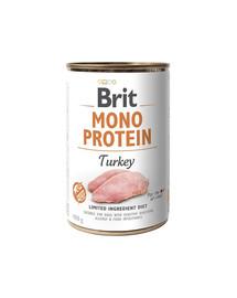 BRIT Mono protein s morčacím mäsom 400 g