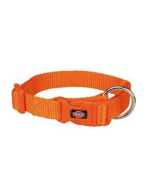 TRIXIE Obojok Premium, M–L: 35–55 cm/20 mm, oranžový
