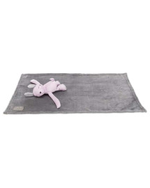 TRIXIE Junior sada - králik s dekou, plyš, 75 x 50 cm