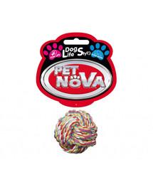 PET NOVA DOG LIFE STYLE Guľôčkovo-bavlnené lano 5cm Superdental