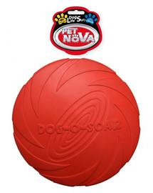 PET NOVA DOG LIFE STYLE Frisbee Hračka 22cm červená farba