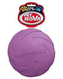 PET NOVA DOG LIFE STYLE Frisbee Hračka 15cm fialová farba