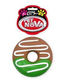 PET NOVA DOG LIFE STYLE Hračka Donut s polevou, 10 cm