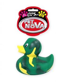PET NOVA DOG LIFE STYLE Hračka v tvare kačice, 7cm, zelená