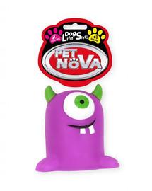 PET NOVA DOG LIFE STYLE  Hračka Monster 10cm, fialová