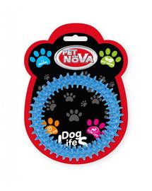PET NOVA DOG LIFE STYLE Dental Ringo 12,5 cm, modrá, mätová vôňa