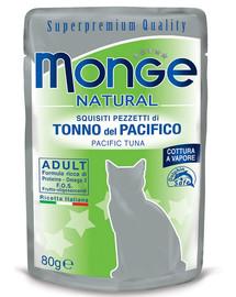MONGE Cat želé tuniak žltoplutvý 80 g