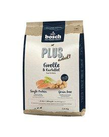 BOSCH Plus Pstruh & Zemiaky 2,5 kg