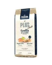 BOSCH Plus Pstruh a zemiaky 12,5 kg