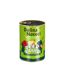 DOLINA NOTECI Premium SuperFood jeleň a kačka 400 g