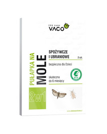 VACO ECO Pasca na moľe (2v1) 2 ks