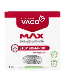 VACO VACO Špirály proti komárom MAX 6 ks