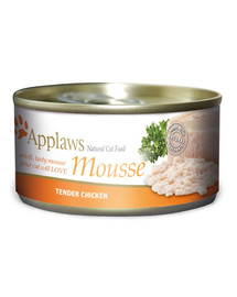 APPLAWS Cat Mousse Tin 70g Chicken