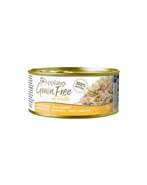 APPLAWS Cat Tin Grain Free 70 g kuracie
