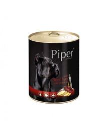 DOLINA NOTECI PIPER pre dospelých psov s hovädzou pečeňou a zemiakmi 800g