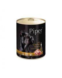 DOLINA NOTECI PIPER pre dospelých psov s kuracím srdcom a ryžou 800 g