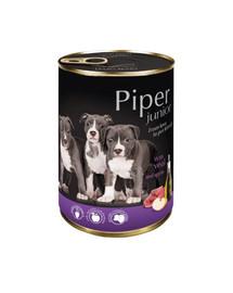 DOLINA NOTECI PIPER Junior pre šteňatá s teľacím a jablkom 400 g