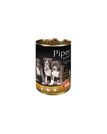DOLINA NOTECI PIPER Junior kuracie žalúdky a ryža 400 g