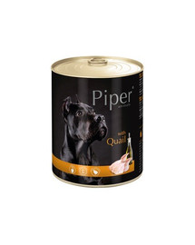 DOLINA NOTECI PIPER pre dospelých psov s prepelicou 800g