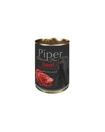 DOLINA NOTECI PIPER Platinum hovädzie mäso s ryžou 400g pre alergických psov